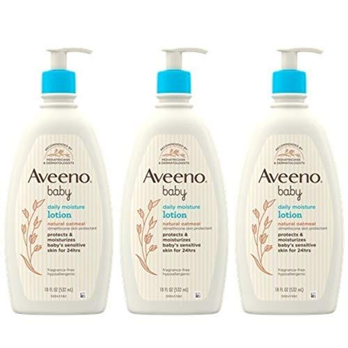 Aveeno宝宝润肤乳,18 oz/瓶,共3瓶