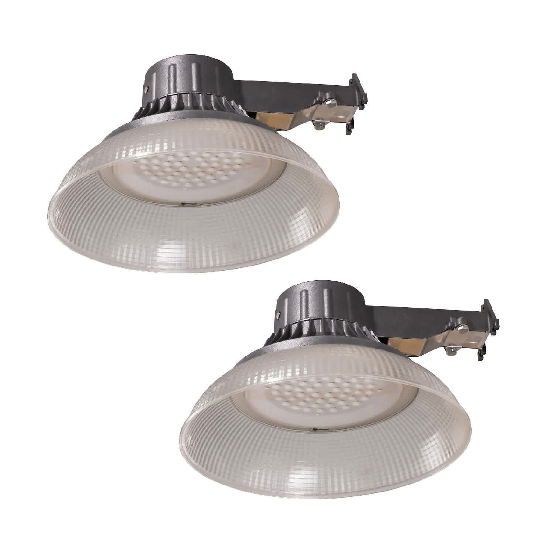 Aube by Honeywell Honeywell 5,000-Lumen LED Utility Light 2-Pack