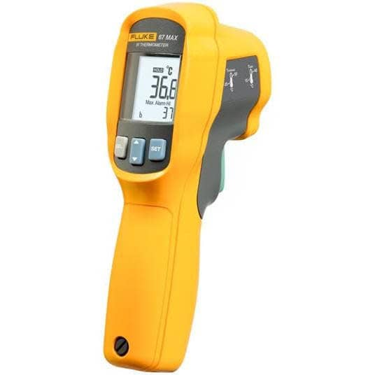 Fluke 67 MAX Clinical Non-Contact Digital Infrared Thermometer