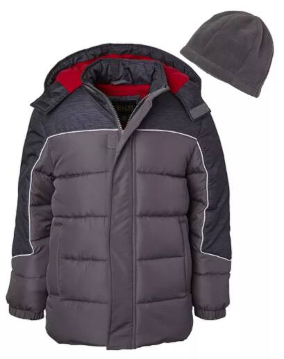 Boys' & Girls' Puffer Coats & Jackets (various styles & colors)