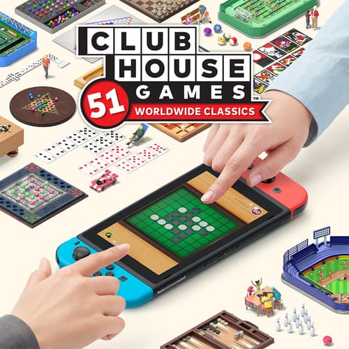Clubhouse Games: 51 Worldwide Classics (Nintendo Switch Digital Download)