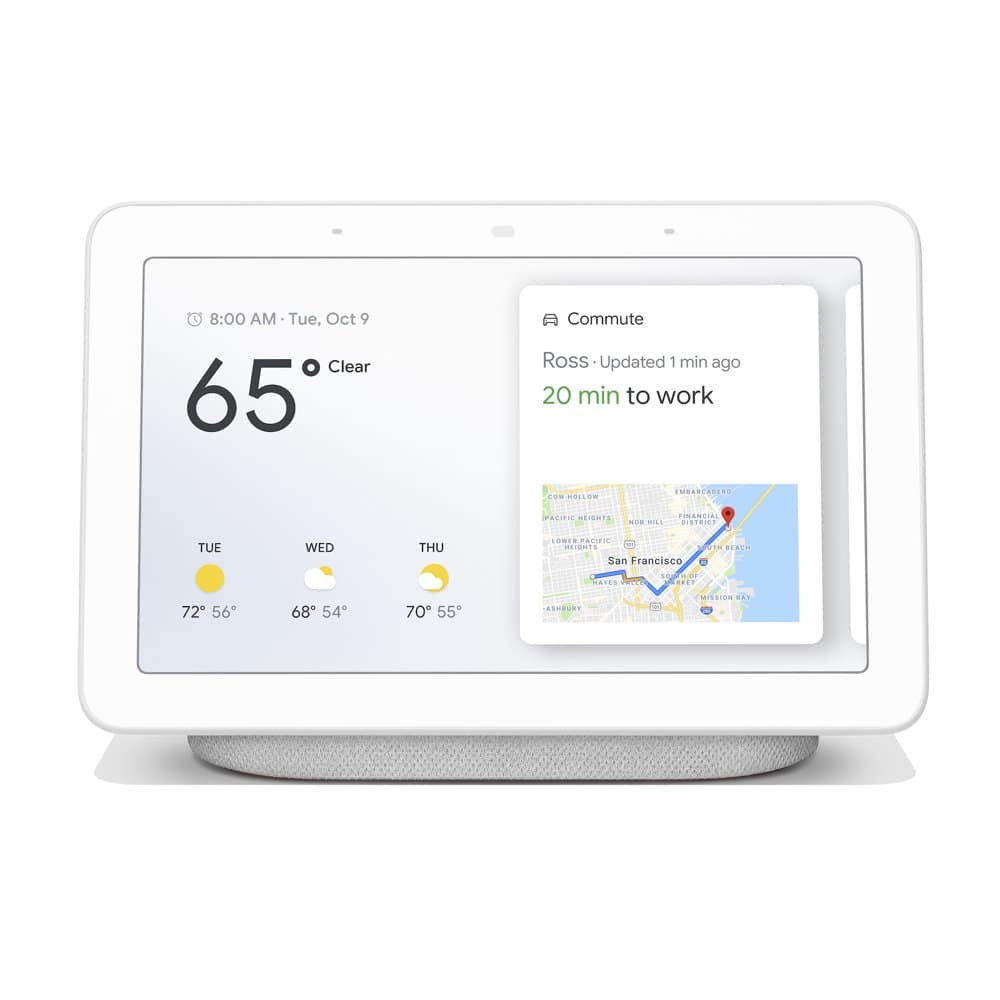 "Select Walmart Stores: Google 7"" Nest Hub Smart Touchscreen Assistant"
