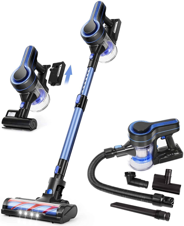 Aposen 250W Cordless Stick Vacuum Cleaner