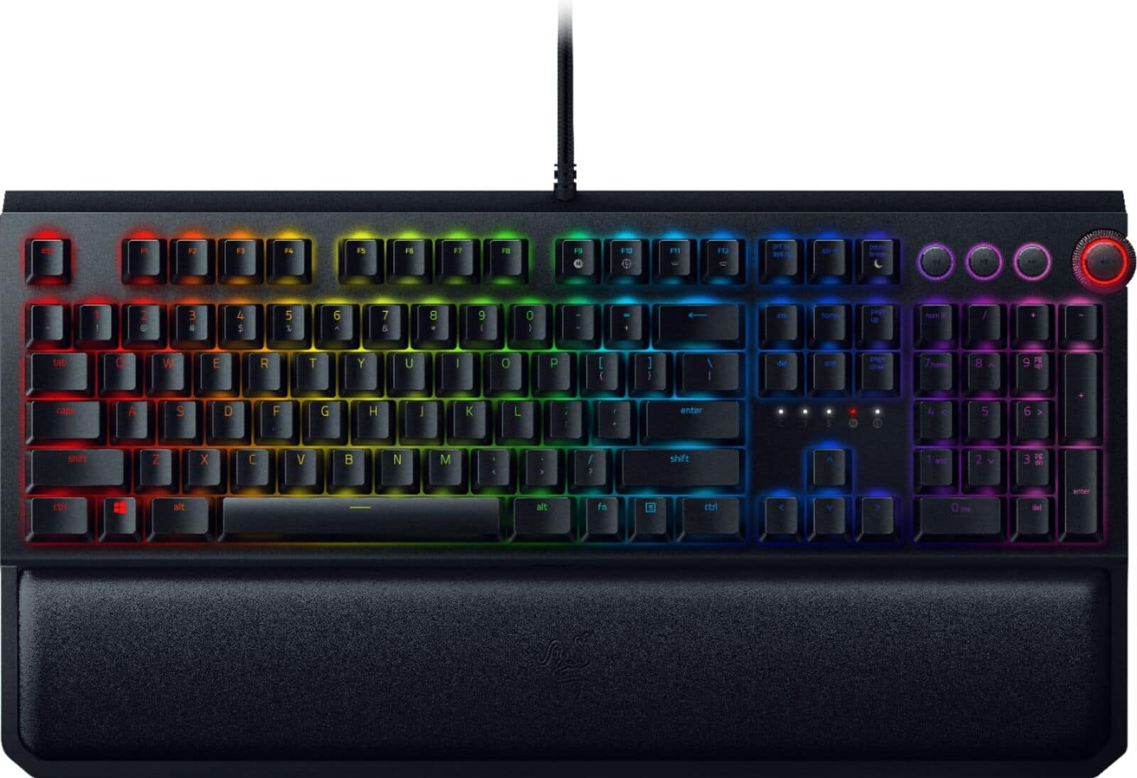 Razer BlackWidow Elite RGB Mechanical Gaming Keyboard w/ Green Switches