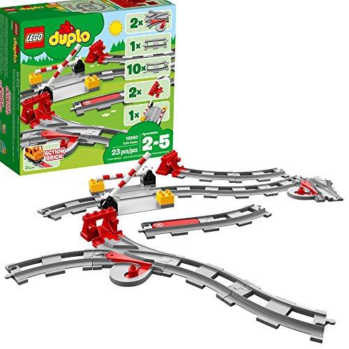 史低价!LEGO乐高DUPLO得宝系列10882  火车轨道