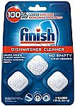3-Ct Finish In-Wash Dishwasher Cleaner
