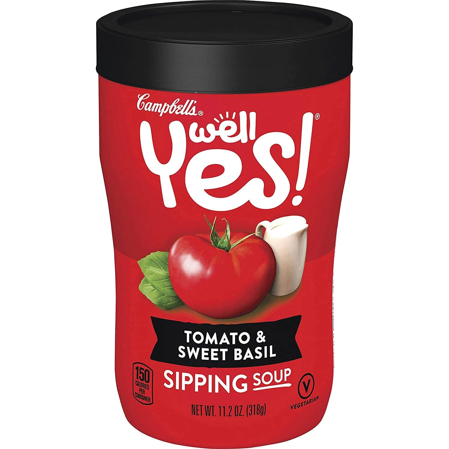 8-Pack 11-Oz Campbell's Well Yes! Tomato & Sweet Basil Sipping Soup