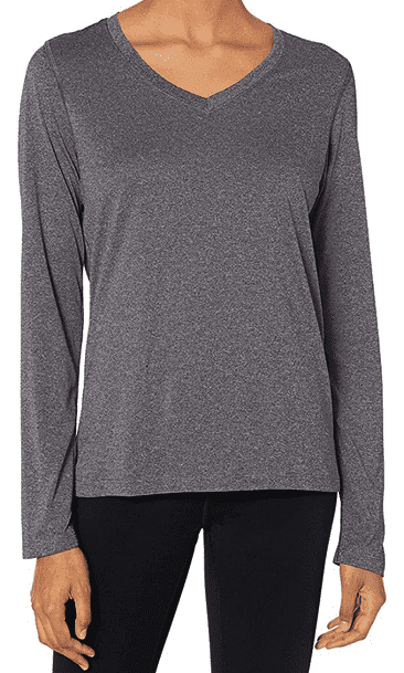 Hanes Women's Sport Cool DRI Long Sleeve T-Shirt