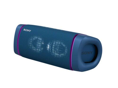 Sony SRS-XB33 Extra Bass Bluetooth Speaker (Refurbished, Blue)