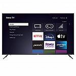 "65"" RCA Roku QLED Class 4K UHD Smart TV"