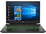 "HP Pavilion Gaming 15 Laptop (Ryzen 5 4600H, 8GB, 512GB, GTX 1650, 15.6"" Full HD)"