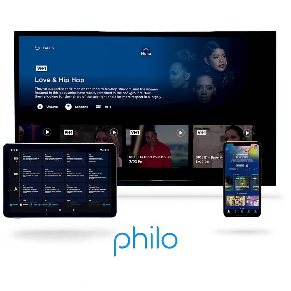 1-Month Philo TV Streaming Subscription (Digital Delivery)