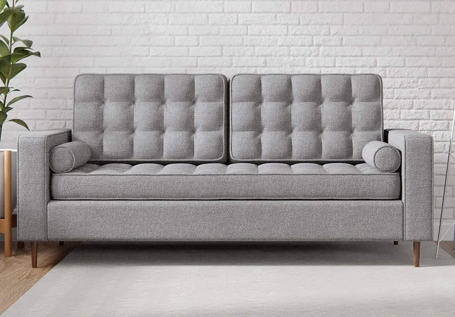 Everlane Home Lynnwood Upholstered Tufted Sofa