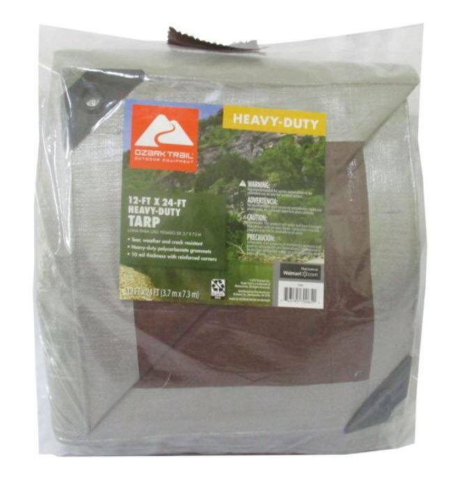 Ozark Trail 12'x24' Heavy-Duty Tarp