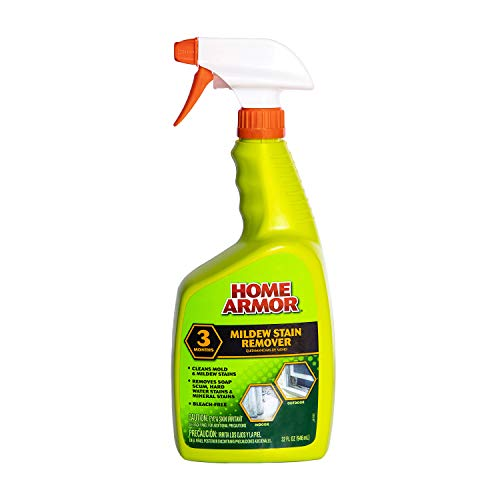 HOME ARMOR Mildew Stain Remover - Bleach Free Cleaner Spray