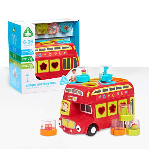 Early Learning Centre Shape Sorting Bus, Amazon Exclusive