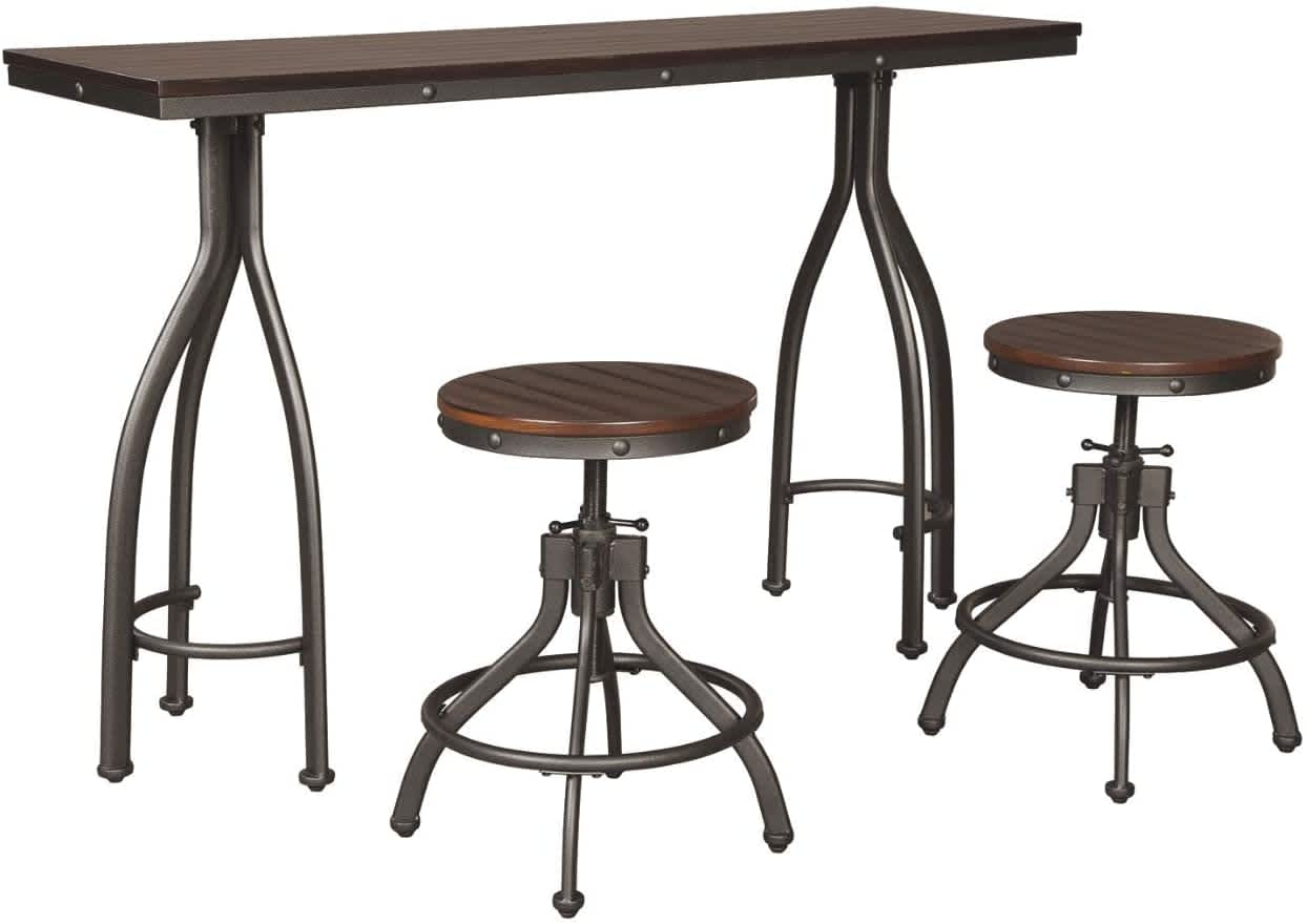 Signature Design by Ashley Odium 3-Piece Dining Set