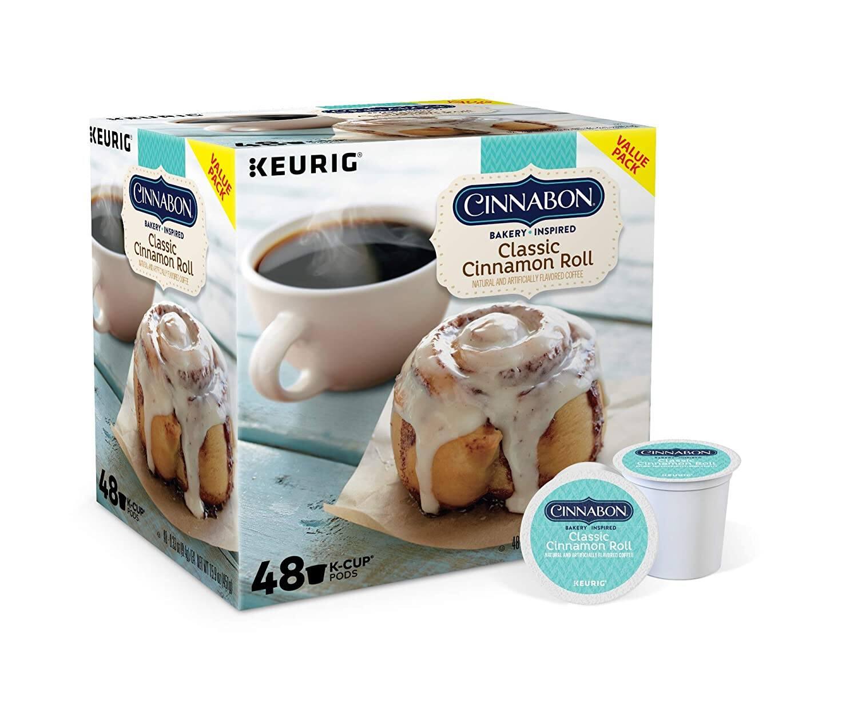 48-Count Keurig Cinnabon K-Cup Pod (Classic Cinnamon Roll)