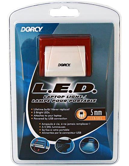 Dorcy LED Laptop Light w/ USB
