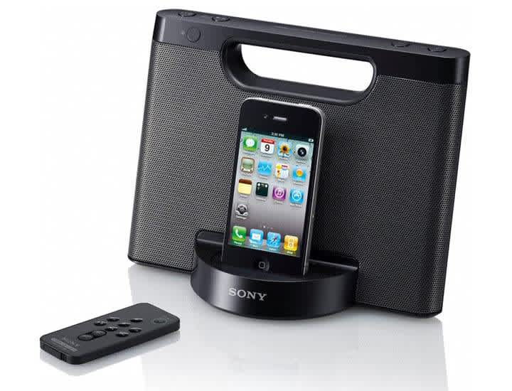Refurb Sony iPhone/iPod Portable Speaker Dock