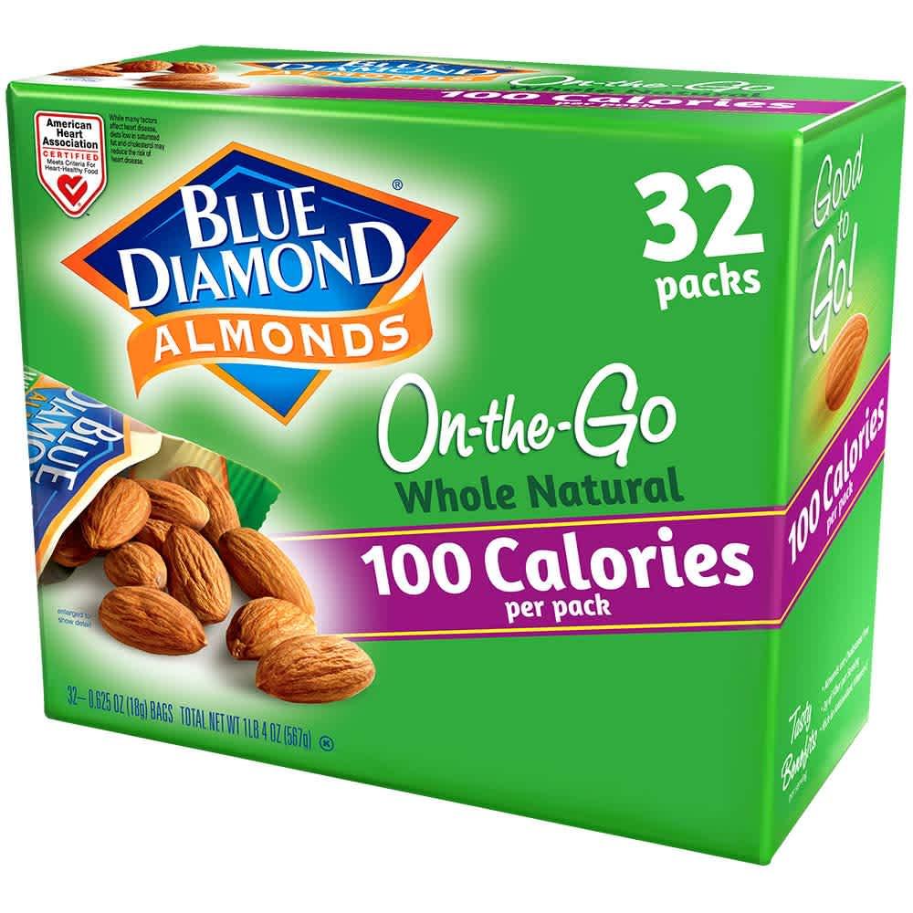 Blue Diamond Almonds at Amazon