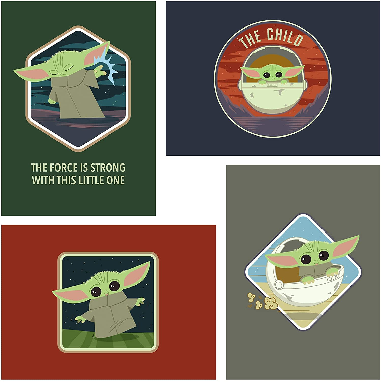 Hallmark Baby Yoda Card 12-Pack