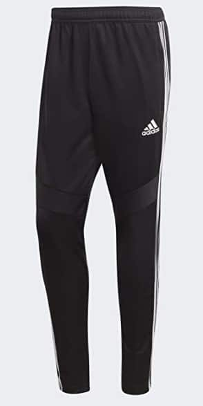 adidas Men's Tiro 19 Training Pants (Black/White, X-Small)