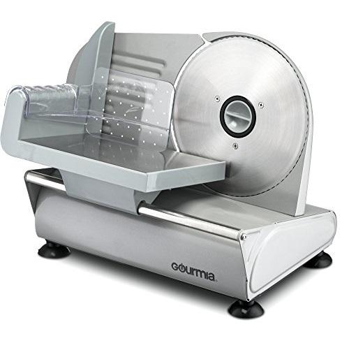 涮羊肉神器!Gourmia GFS-700 不锈钢电动食物切片机