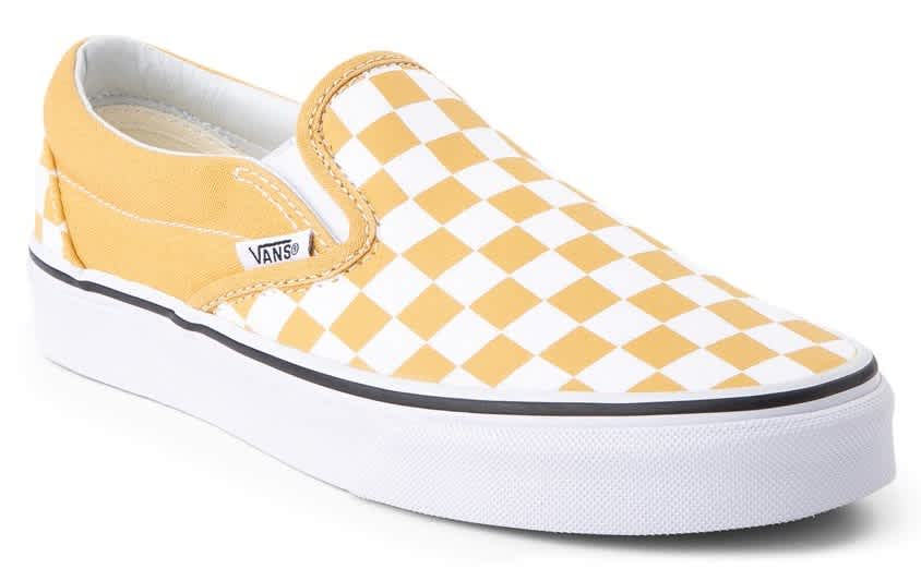 Vans Slip On Checkerboard Skate Shoes