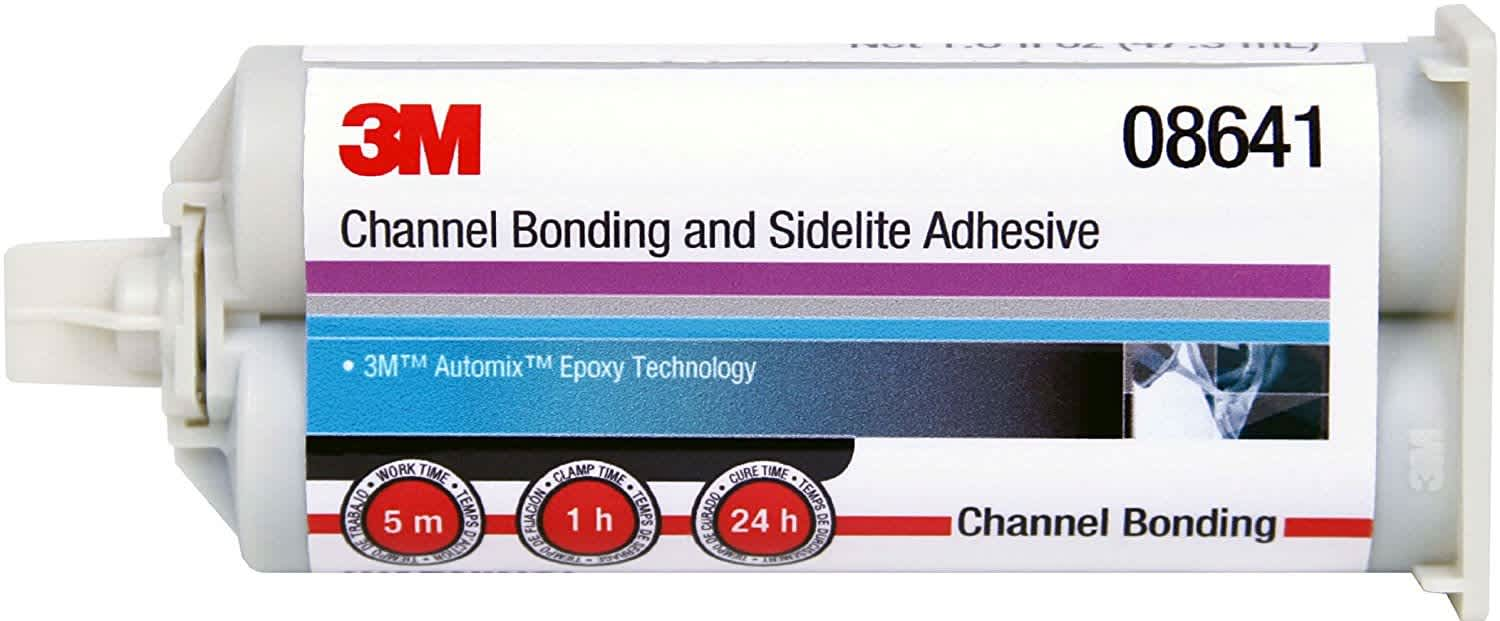 3M Automix Channel Bonding and Sidelite Adhesive