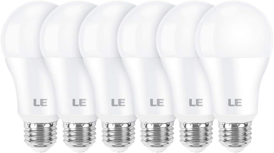 LE 100W-Equivalent A19 E26 LED Light Bulbs