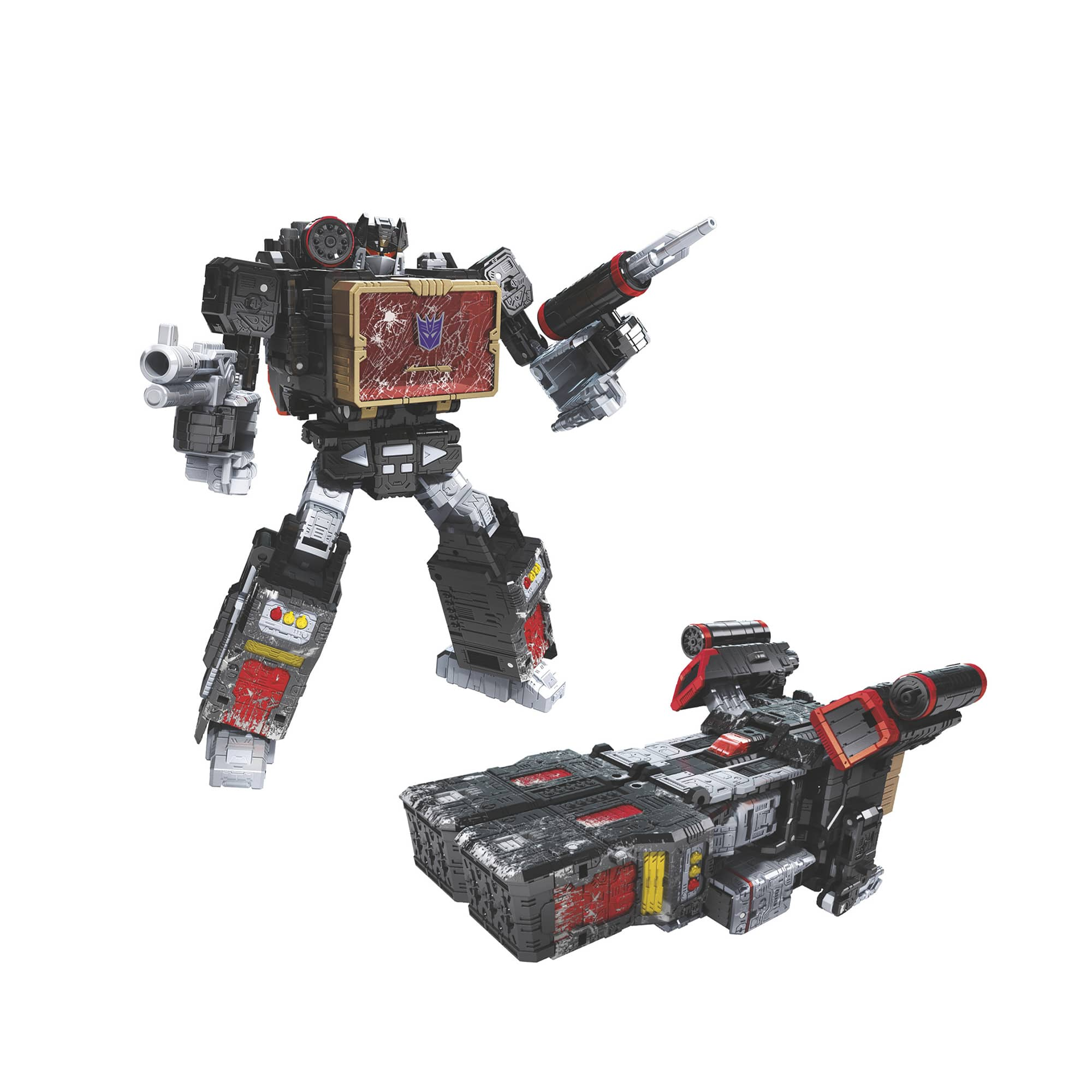 Transformers War for Cyberton: 35th Anniversary Toys: Megatron or Soundblaster