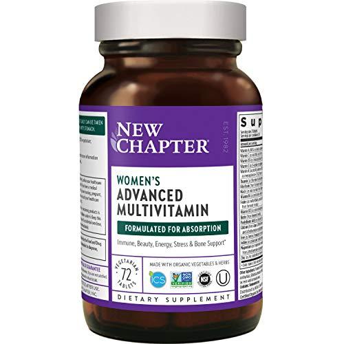 New Chapter Women's Multivitamin + Immune Support