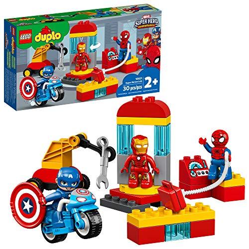 史低价!LEGO乐高 DUPLO得宝系列10921 超级英雄实验室