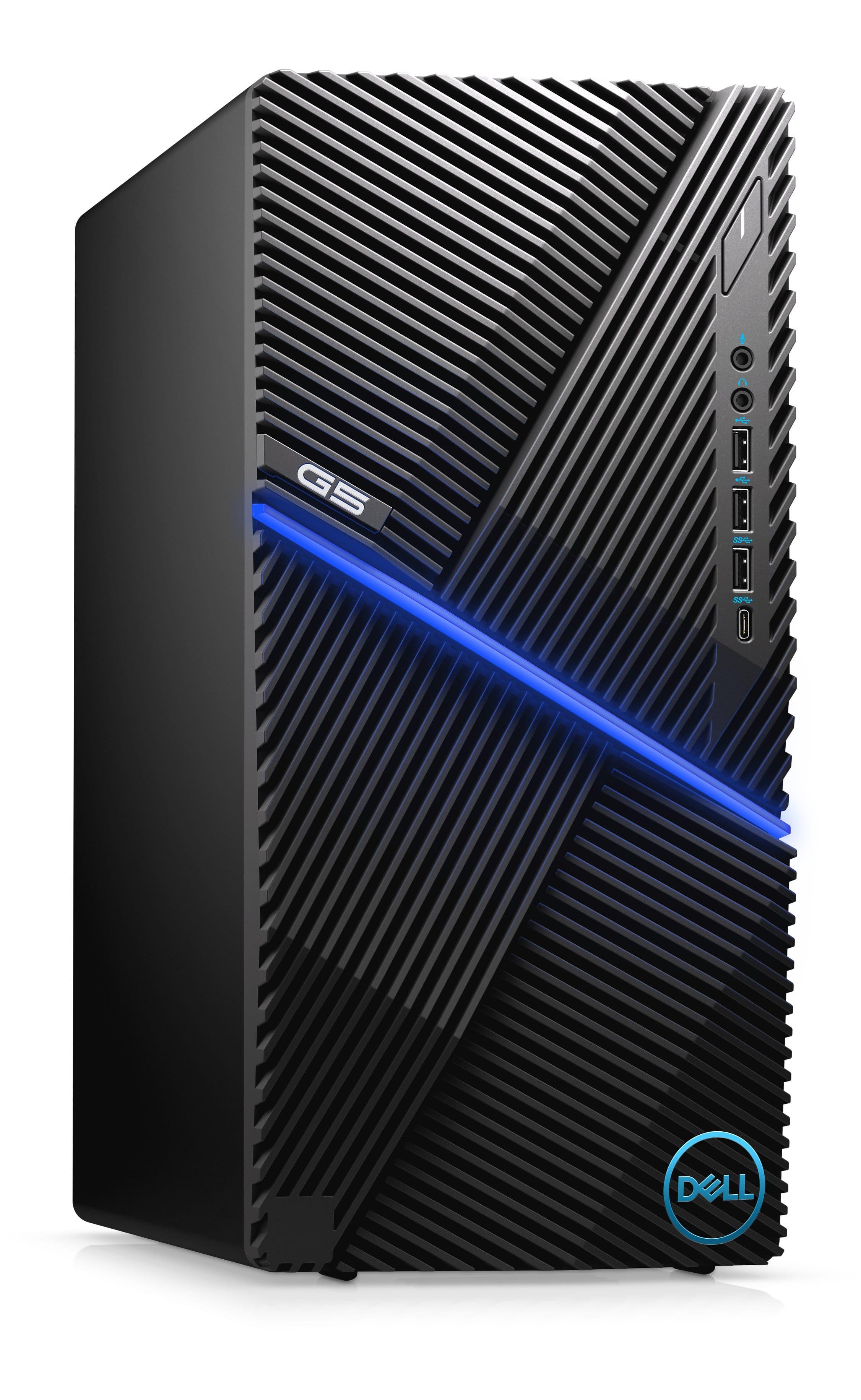 Dell G5 Gaming Desktop: i5-10400F, 8GB RAM, 512GB SSD, GTX 1650 SUPER