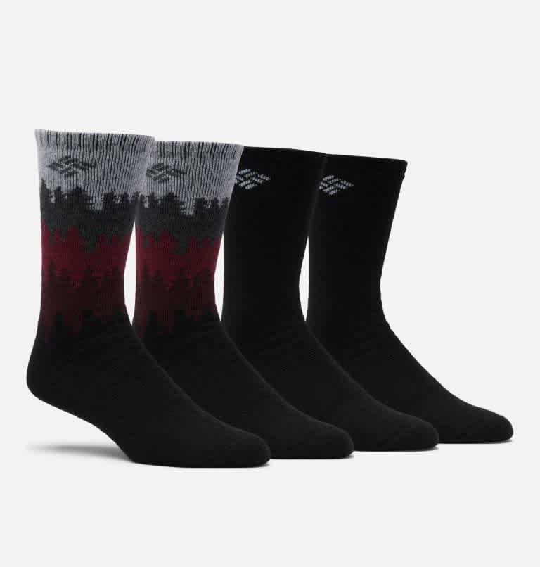Columbia Men's Crew Socks 4-Pack