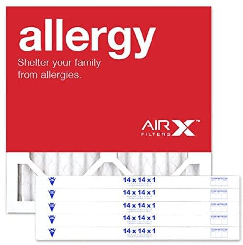 AIRx Allergy or Dust Pleated Air Filter 6-Packs
