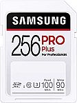 SAMSUNG PRO Plus SDXC Full Size SD Card 256GB