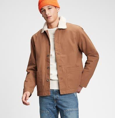 Gap Men's Workforce Collection Sherpa Jacket
