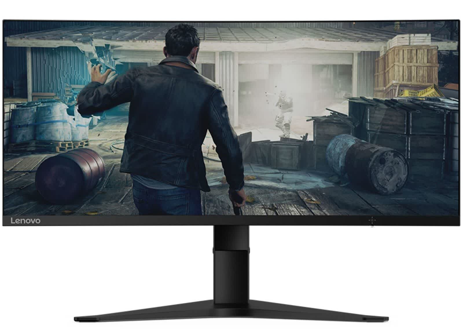 "Lenovo G34w-10 34"" Ultrawide 1440p 144Hz Freesync Curved LED Gaming Monitor"