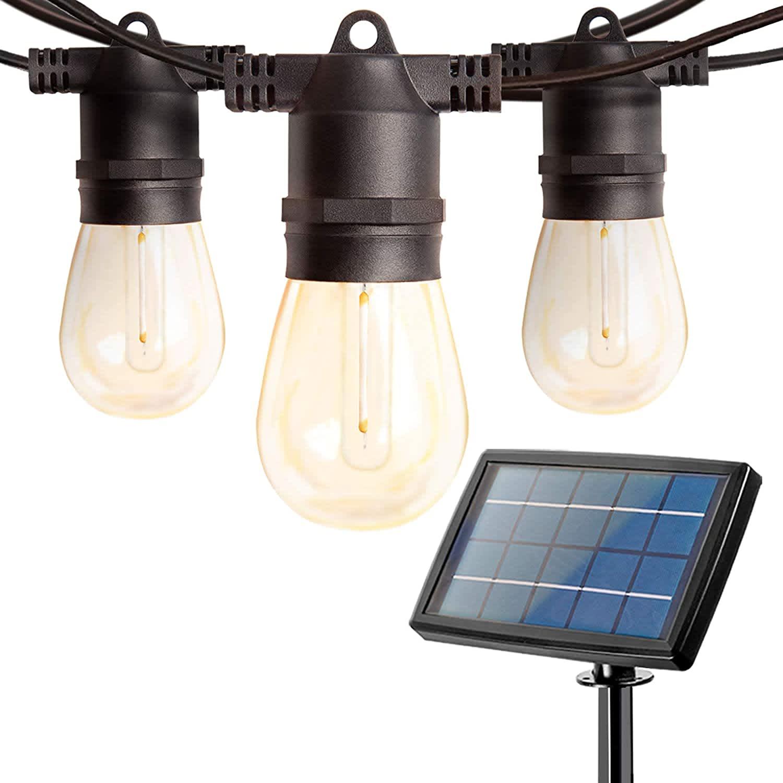Addlon 48-Foot Solar LED String Lights