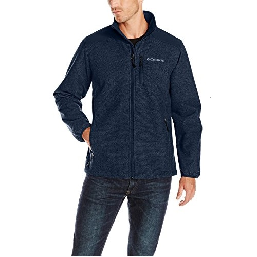 Columbia Men's Wind Protector Novelty Jacket, Carbon, X-Large
