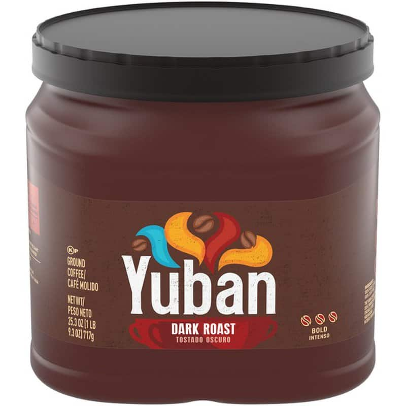 25.3-Oz Yuban Bold Dark Roast Ground Coffee