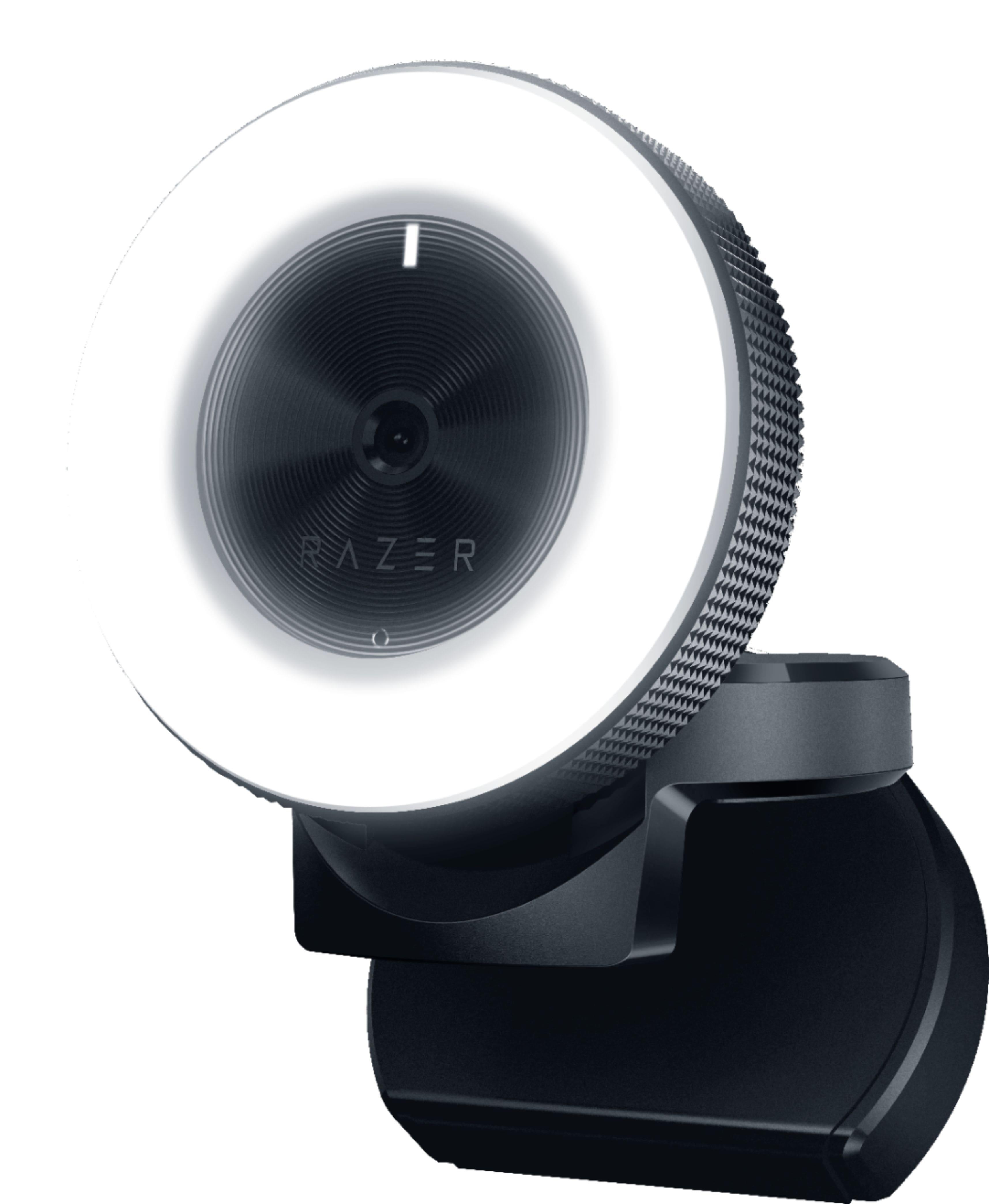 Razer Kiyo Full HD 1080p Streaming Webcam w/ Ring Light & Auto Focus