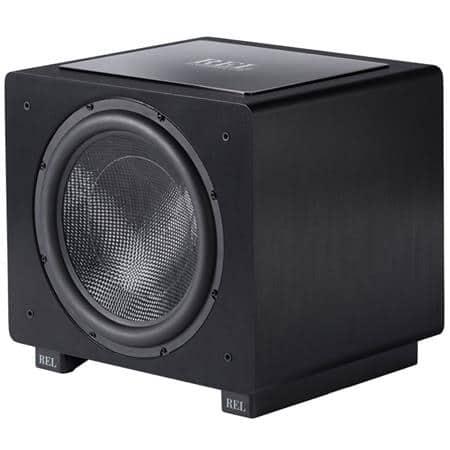 """Rel Acoustics Subwoofers: 15"""" 800W HT/1508 $999, 12"""" 500W HT/1205"""