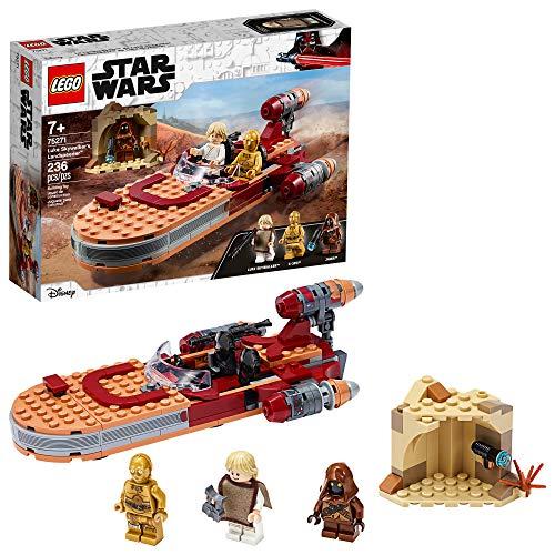 史低价!LEGO乐高Star Wars星球大战系列 75271 卢克·天行者的陆地飞车