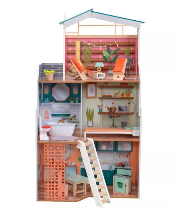 KidKraft: Marlow Dollhouse or Happy Harvest Play Kitchen