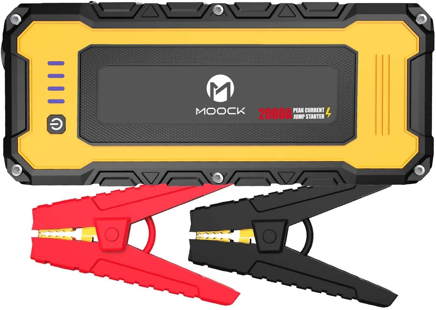 Moock 20,080mAh Power Bank & Jump Starter