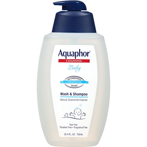 Aquaphor Baby Wash and Shampoo, 25.4 Fluid Ounce