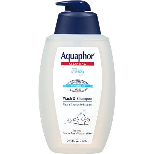 史低价!Aquaphor优色林 宝宝温和洗发沐浴露,25.4oz